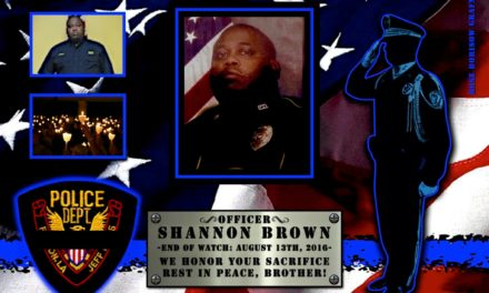 In Memoriam: Officer Shannon Brown