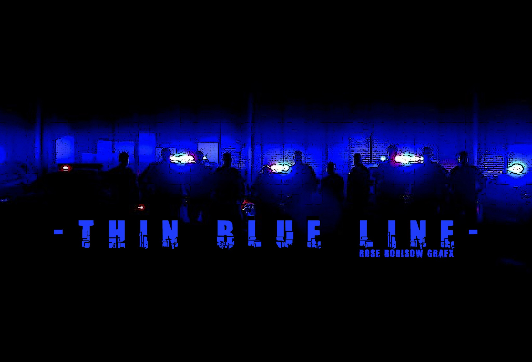 this is my thin blue line