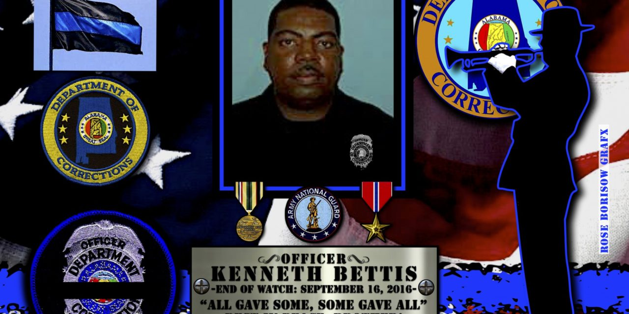 In Memoriam: Corrections Officer Kenneth Bettis