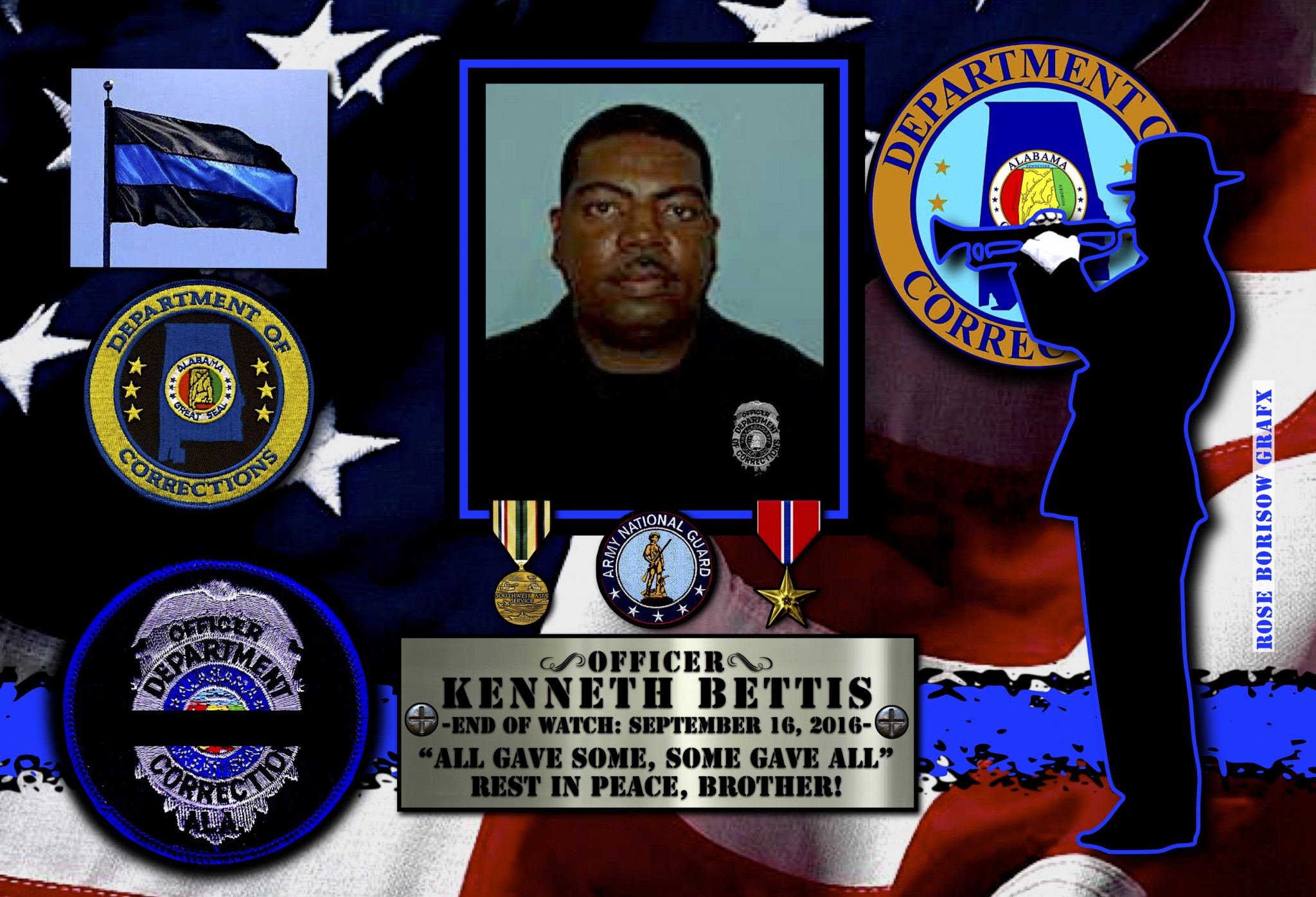 University Of South Alabama Jobs >> In Memoriam: Corrections Officer Kenneth Bettis - Law ...