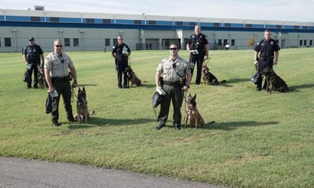 Sebastian County K-9s Receive GPS Pet Trackers