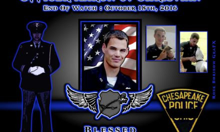 In Memoriam: Officer Aaron J. Christian
