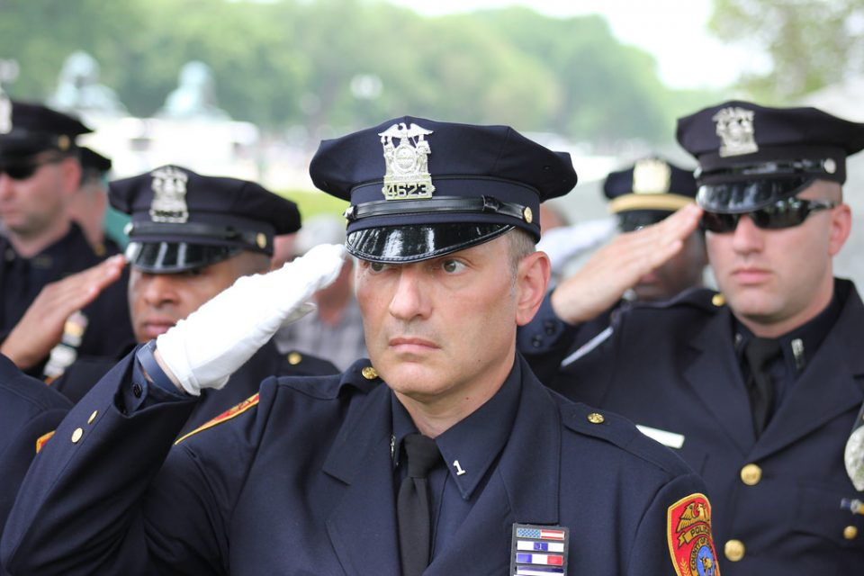 NY Jets Salute Heroes from Linden Police Department