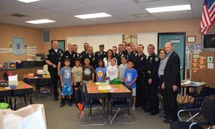 Daughter of Slain Palm Springs Officer Escorted to School