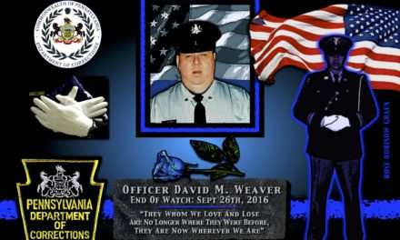 In Memoriam: Corrections Officer David Weaver