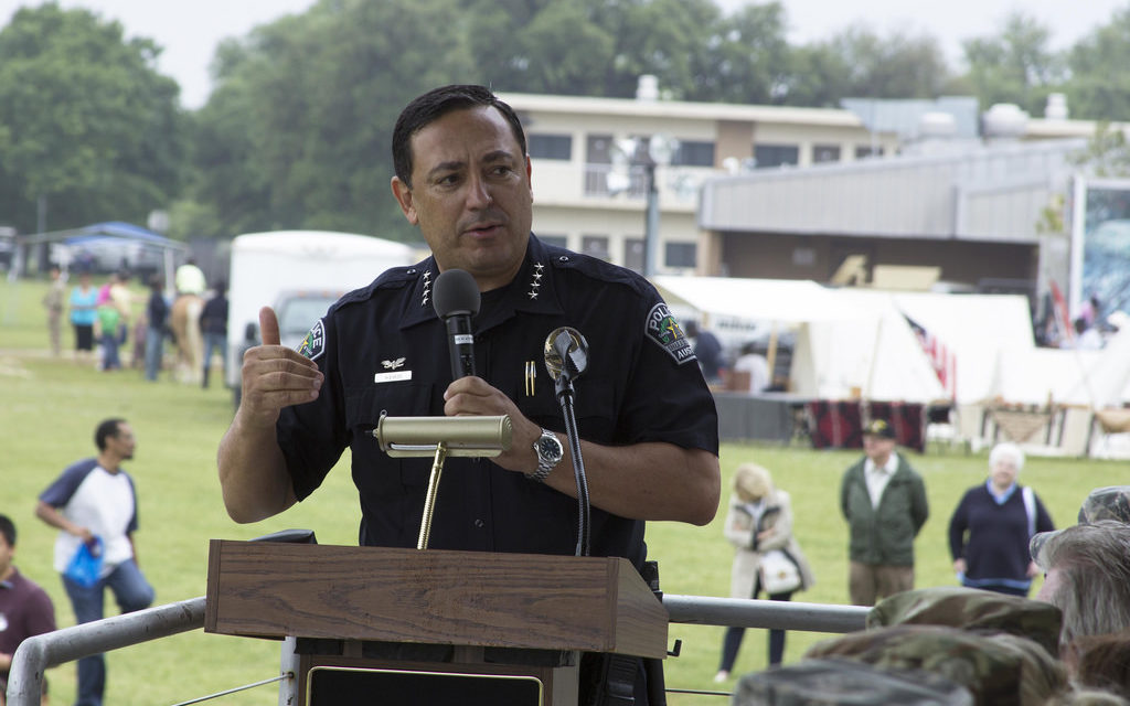 """Gun control groups using fake """"police think tank"""" and political hacks like Acevedo to disarm Americans"""