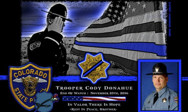 In Memoriam: Trooper Cody Donahue