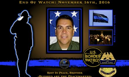 In Memoriam: Border Patrol Agent David Gomez