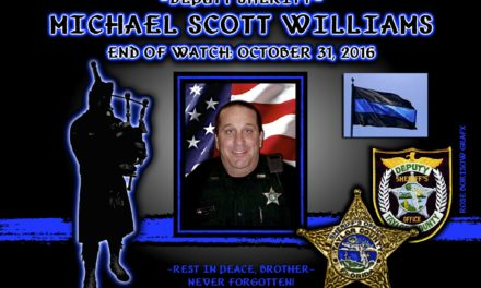 In Memoriam: Deputy Sheriff Scott Williams