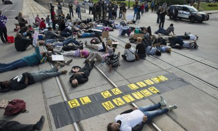 Students Stage 'Die-in'