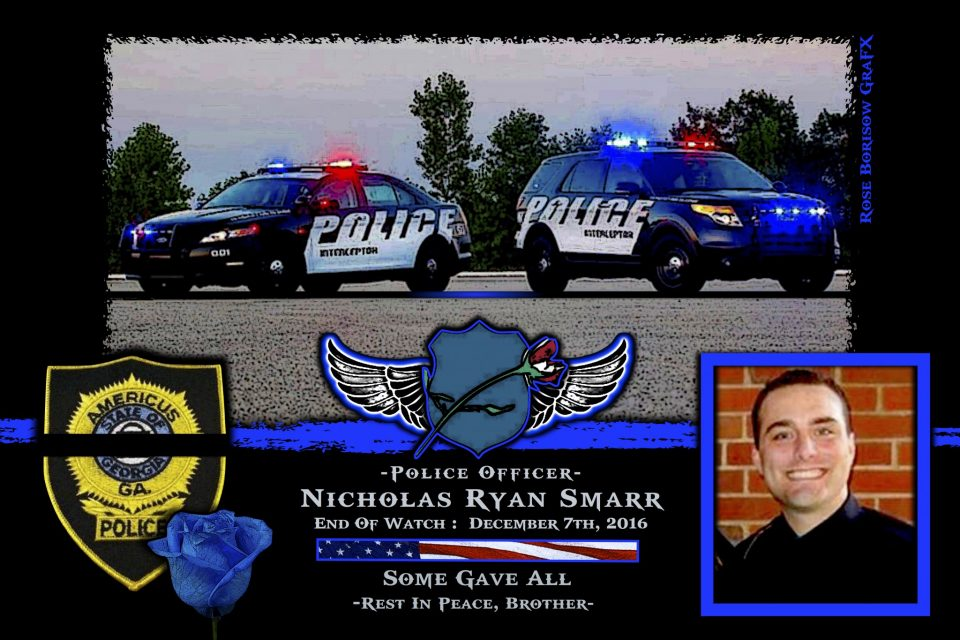 In Memoriam: Officer Nicholas Smarr