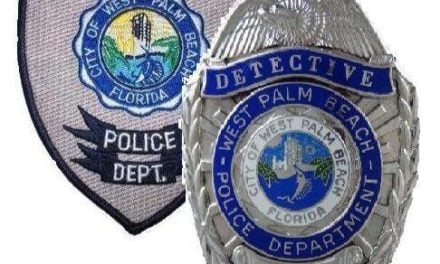 West Palm Beach Officer 'Caught in the Act' of Christmas