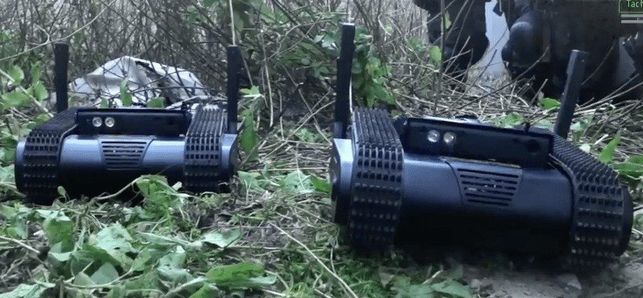 Meet Dogo, the Tactical Combat Robot