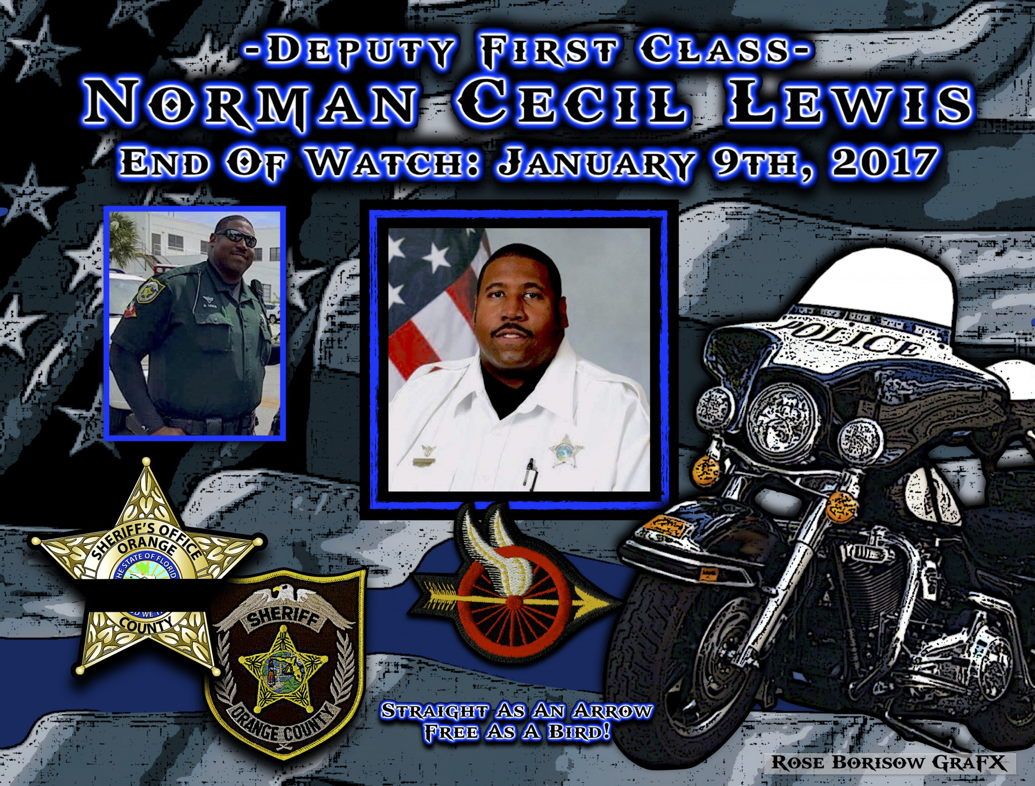 In Memoriam: Deputy First Class Norman Lewis - Law ...