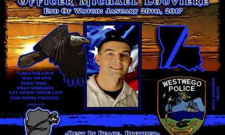 In Memoriam Officer Michael Louviere