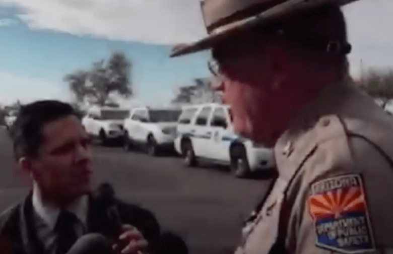 Trooper's Attacker Stopped by Armed Motorist