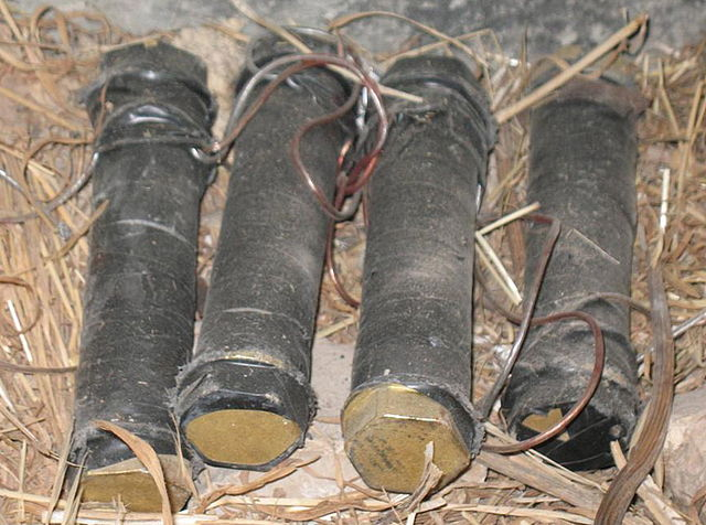 pipe bombs