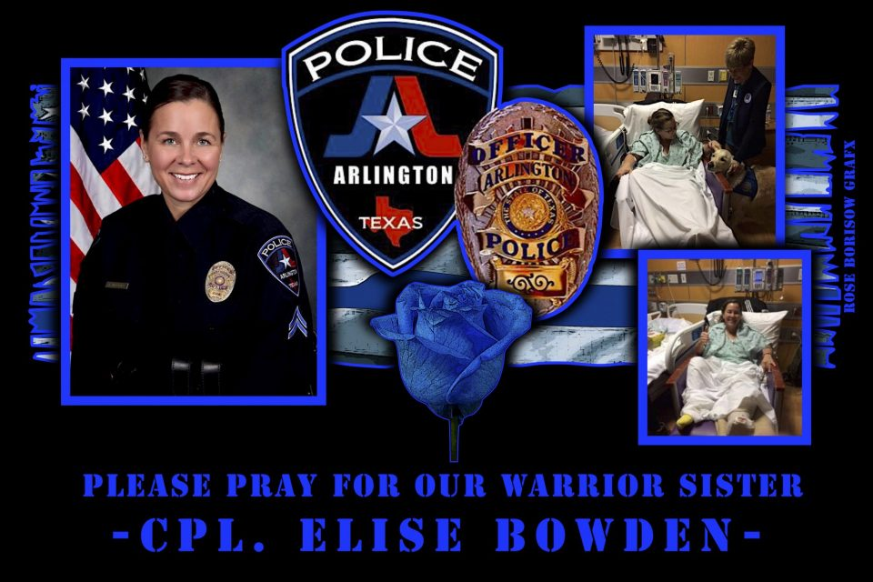 Severely Injured Arlington Officer Thanks Supporters