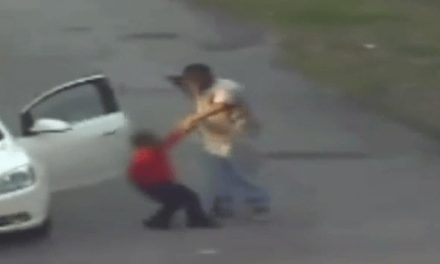Man Caught on Camera Brutally Beating Boy