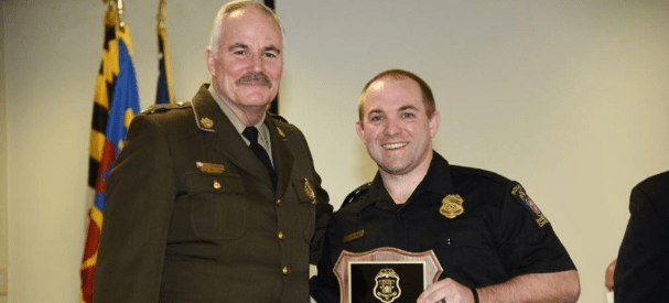 Maryland Officer Honored