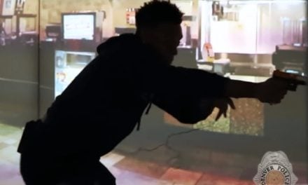 NFL Star Discovers Police Work Difficult Using Shooting Simulator