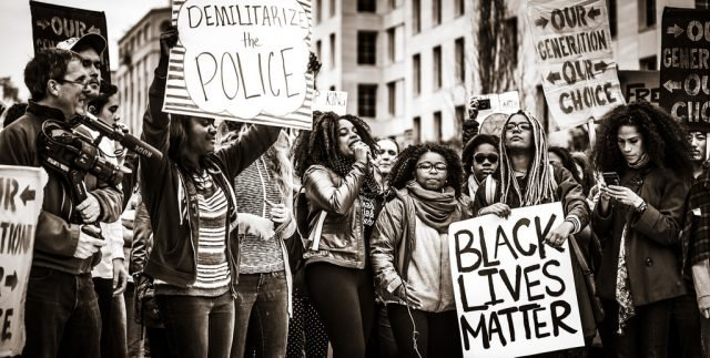 registered voters negative view black lives matter