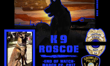 Police Service Dog Roscoe Gunned Down and Killed