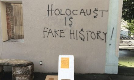 Holocaust Deniers Vandalize Seattle Synagogue