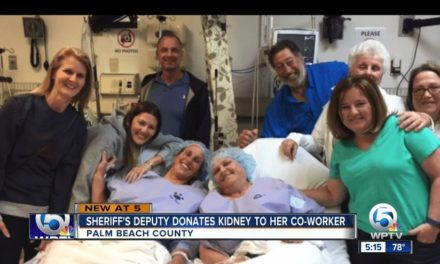Deputies Become Kidney Sisters