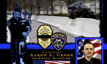 In Memoriam Lieutenant Aaron Crook