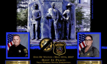 In Memoriam Deputy Sheriff Jason Garner and Community Service Officer Raschel Johnson