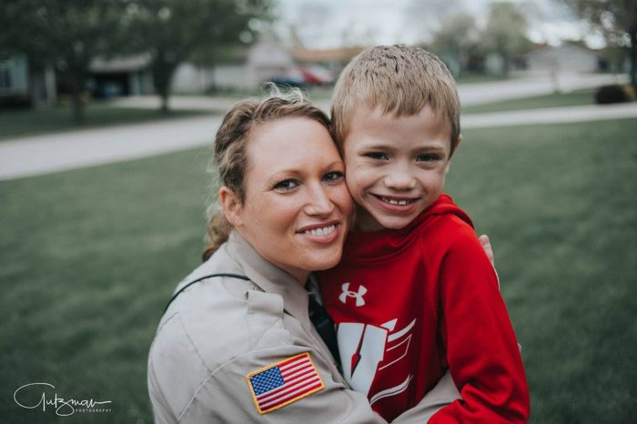 Wisconsin Police Officer Donating Kidney to Young Boy