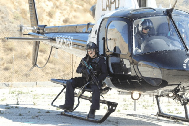 LAPD Sniper Shoots Suspect From Helicopter