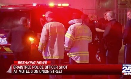 Officer shot in face, suspect found dead in motel room
