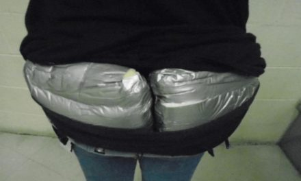 Woman Nabbed With 3 Pounds of Heroin Strapped to Derriere