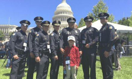 POTUS Spends Time With Phoenix Police Department Family