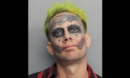 Joker Lookalike Arrested