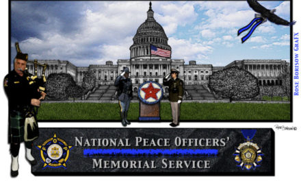 Ceremony at US Capitol Honoring Fallen Officers