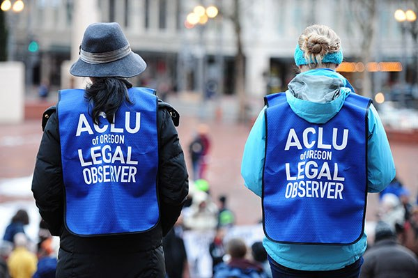 Lying ACLU Issues Defamatory Statement About Portland Police And Trump Rally On June 4th