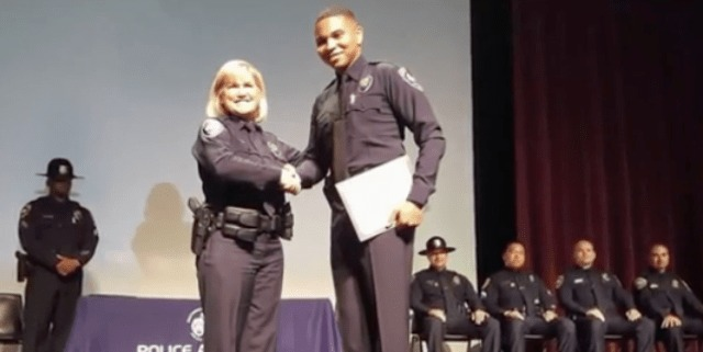 Marine Veteran Amputee Realizes Dream of Becoming a Police Officer