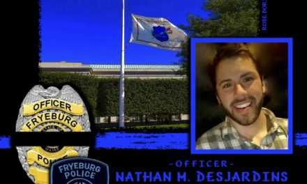 In Memoriam Officer Nathan Desjardins