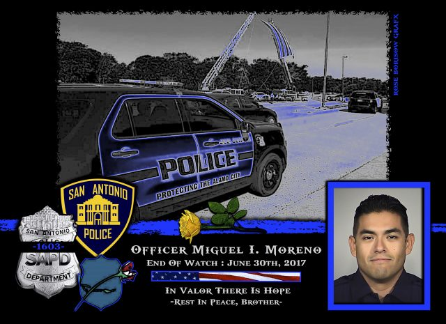 In Memoriam Officer Miguel Moreno