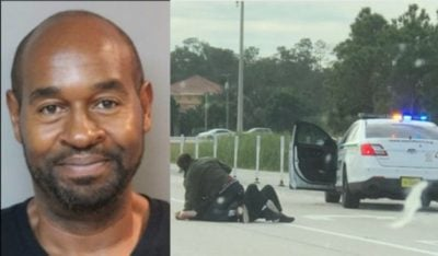 ICYMI – Good Samaritan Shoots Thug Off Of Officer On Florida Highway – Video