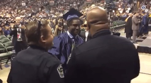 Austin Chief Remembers Children of Fallen Officers at Graduation