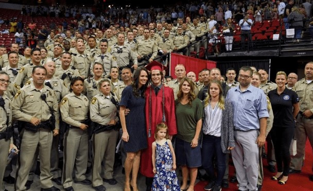 LVMPD Celebrates High School Graduation With Pomp and Circumstance