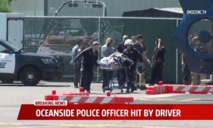 Driver Intentionally Runs Down Motorcycle Officer