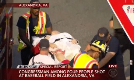 Capitol Police take down homicidal gunman shooting at Republicans practicing for charity baseball game