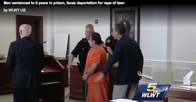Previously Deported Illegal Alien Sentenced for Rape