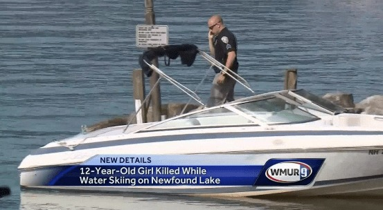 Girl Killed by Boat Operated by Her Father
