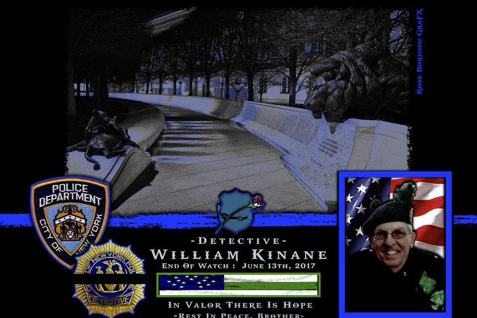 In Memoriam Detective Billy Kinane